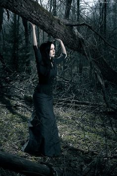 Gently Out Of Time: In A Dark Forest - a photoshoot