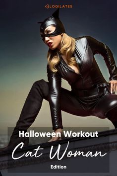 Try this cat woman workout inspired by cat woman herself and designed as a low impact workout and total body workout for you to do! It's the perfect superhero workout for super hero lovers and especially around this time of year! Check out Blogilates on youtube to learn more and watch the full at home workout! Body Workouts, At Home Workouts, Superhero Workout, Blogilates, Woman Workout, Low Impact Workout, Fat Burning Workout, Total Body, Catwoman