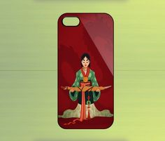 Disney Mulan for iPhone 4/4S iPhone 5 Galaxy S2/S3/S4 & Z10 | WorldWideCase - Accessories on ArtFire