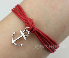 simpleness cute anchor bracelet fashion bracelets for by handworld, $1.59