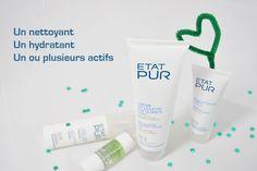 Nettoyant, hydratant, actifs purs - Formule personnalisée État Pur