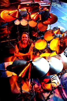 Nicko McBrain - Iron Maiden, Pat Travers, Streetwalkers, Trust, The Entire Population of Hackney More