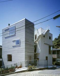 Tato House, by Yo Shimada, Tato Architects, Kobe, Japan