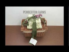 Pemberton Farms Gift Basket Review We were pleasantly surprised by Pemberton's Snack for Six basket. The items in the basket all came in attractive packaging, though the quality of the items varied. The best items were the dried fruit, Oaties Sweet Biscuits and shortbread. Most of the gourmet items came from Fastachi, based in Watertown, New York and known for their award winning dried fruit and nuts.