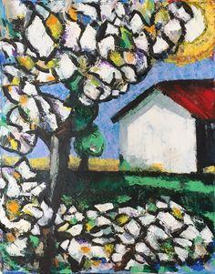 Fiori d'estate - acrylics on canvas cm. 40x50