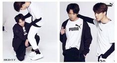 Jungkook and Jimin #HighCut #PUMA