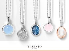 TI SENTO always brings jewellery that is on trend. A small colourful pendant can spice up your entire outfit. Which is your favorite?