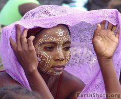 "Africa | ""Zoro"" Cerimony - Sakalava Woman. Nosy Be Madagascar. | © Marcello Spadoni #NosyBe #Madagascar"