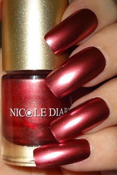 Wendy's Delights: NICOLE DIARY - Satin Chrome / Foil Effect Nail Polishes Foil Nails, Polished Look, Nail Polishes, Natural Nails, You Nailed It, Pedicure, My Nails, Chrome, How To Apply