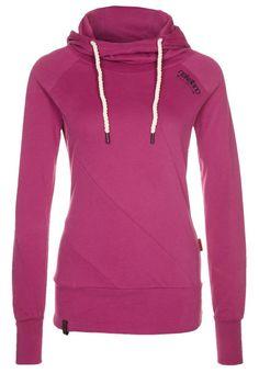 4536c05a87d7 Amazon.com  Naketano Mandy III Rasberry Hoodie Hoody Sweater Damen Womens  XS-XL(XS)  Clothing