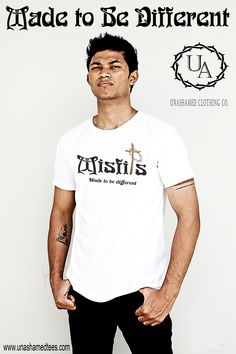 Misfits Tee from Unashamed Clothing Co. Faith Meets Fashion. Unashamed. www.unashamedtees.com