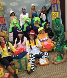 toy story group halloween costumes - Toy Story Alien Halloween Costume