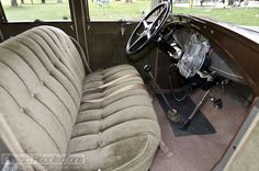 This 1928 Ford Model A Pickup and 1930 Ford Model A Town Sedan have been restored and are driven regularly.