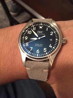 A wrist watch is basically a wrist watch designed to be carried or attached by a man or woman. Iwc Watches, Cool Watches, Watches For Men, Pocket Watches, Wrist Watches, Iwc Perpetual Calendar, Iwc Chronograph, Iwc Pilot, Expensive Watches