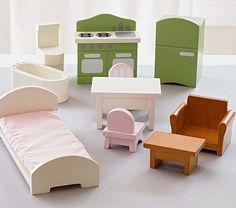 Dollhouse Furniture Starter Set #PotteryBarnKids