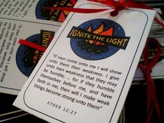 Youth Activity - Bad Habit Bonfire (Ignite the Light) but would also make an awesome RS Mtg topic/mtg.