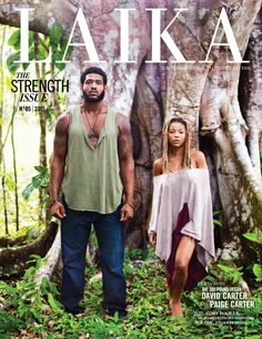 NFL defensive lineman + vegan David Carter, with wife and fellow animal rights activist, Paige Carter.