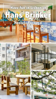 At Hans Brinker Hostel you have a fun and affordable place to stay, so you can go ahead and enjoy everything else that makes Lisbon great. Spend your hard earned cash on an extra bifana or pastel de nata. Go Portuguese crazy.