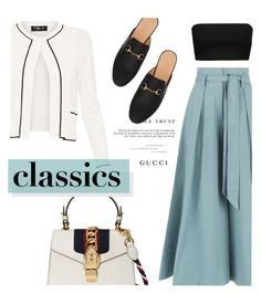 classics by rosettel on Polyvore featuring polyvore fashion style Paule Ka Moschino Temperley London Gucci Madara clothing