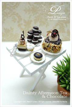 Petit D' Licious: An Elegant and Daity Afternoon Tea & Chocolate