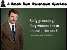8 Best Ron Swanson Quotes