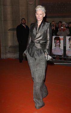 Tilda Swinton Photo - David Bowie Is - Private View - Arrivals