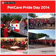 A picture-purrrfect beautiful day to celebrate our annual PetCare Pride Day in St. Louis – a special day for our #Purina Family to come together for team-building and giving back to the communities in which we live and work in.