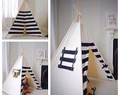 Children's Teepee Play tent by LittleMeTeepee on Etsy