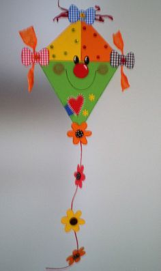 FOR SALE Toddler Crafts, Preschool Crafts, Easter Crafts, Kites Craft, Art N Craft, Autumn Crafts, Spring Crafts, Diy And Crafts, Crafts For Kids