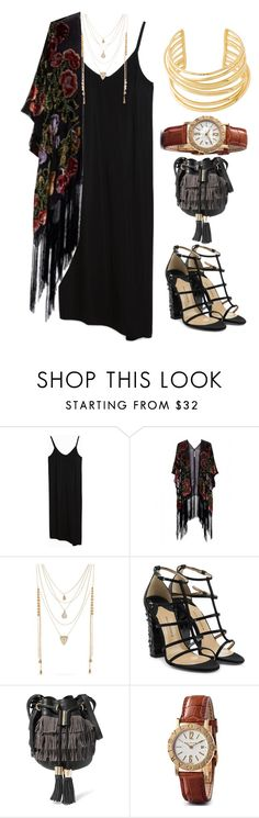 """""""///"""" by lunaashton ❤ liked on Polyvore featuring Kite and Butterfly, Steve Madden, Paul Andrew, See by Chloé, Bulgari and Elizabeth and James"""