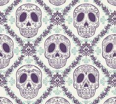 pattern sugar skulls