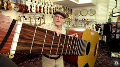 プレイヤーを驚かせ続ける世界のびっくり楽器たちに、新たな仲間が加わりました。ミシガン州のローレンス・ストンプさんが、世界最大サイズのウクレレを制作し、ギネス記録を樹立したとLaughing Squidが報じています。