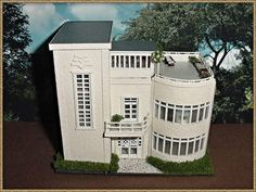 Art Deco Dollhouse   Google Søk