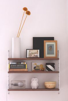 String shelf by stringfurniture. Love.