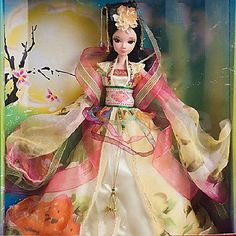 QJYB Pretty Princess of the Moon Dress Kurhn Doll Chinese Girl Figure