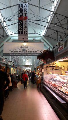 Kauppahalli ~ market place
