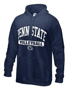 Montana State Youth Navy Fleece Hoodie Volleyball