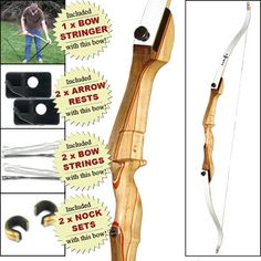 MonLook Archery Arm Forearm Guard Finger Tabs Protector Set for Traditional Recurve Bow