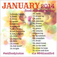 84th&3rd | January Photo Challenge 2014 #eatfoodphotos: The Food Photo-A-Day!