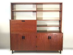M328: Pastoe 'Made to Measure' wall unit designed by Cees Braakman ± 1957
