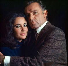 Richard Burton and Liz Taylor