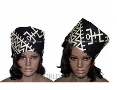 The edges of this scarf or head wrap are tailored for immediate use. This head wrap fabric is made from African fabric made in Mali. Whether for a special occasion or casual use, you can't help but be