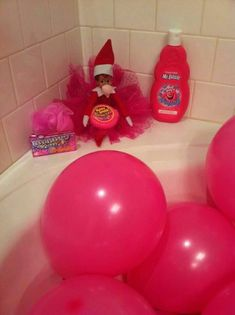 The Complete Index of Elf on the Shelf Ideas! The Complete Index of Elf on the Shelf Ideas The post The Complete Index of Elf on the Shelf Ideas! & Elf on a shelf appeared first on Elf on the shelf ideas . Awesome Elf On The Shelf Ideas, Elf Magic, Elf On The Self, Naughty Elf, Buddy The Elf, Pink Balloons, Ballon, Christmas Elf, Christmas Ideas