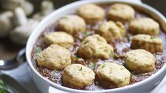 Beef, ale and horseradish cobbler made using a recipe from our Cookbook © National Trust Images / William Shaw