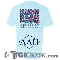 TGI Greek - Alpha Delta Pi - Tennessee Tech University - Comfort Colors - Greek T-shirts #TGIGreek #AlphaDeltaPi
