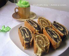 Arome si culori : Baigli cu mac Romanian Food, Romanian Recipes, French Toast, Mac, Food And Drink, Bread, Breakfast, Desserts, Knits