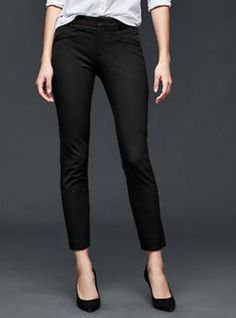Bi-Stretch Ankle Pants - GAP - $69  http://www.gapcanada.ca/browse/product.do?cid=1051462&vid=1&pid=130046043