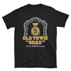 Old Town Road T-Shirt #fashion #clothing #shoes #accessories #unisexclothingshoesaccs #unisexadultclothing (ebay link) Country Men, Old Town, Graphic Tees, Unisex, Link, Clothing, Mens Tops, T Shirt, Accessories