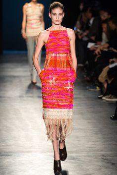 Altuzarra Fall 2014 Ready-to-Wear Fashion Show - Elodia Prieto
