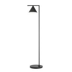 Captain Flint Floor Lamp, Graphite/Black Marble $1946. - RoyalDesign.com